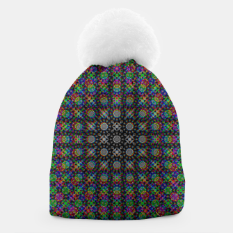 Thumbnail image of Psychedelic Kaleidoscope Beanie, Live Heroes