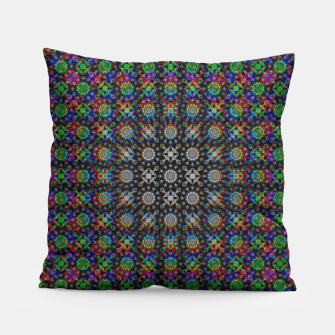 Thumbnail image of Psychedelic Kaleidoscope Pillow, Live Heroes