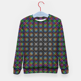 Thumbnail image of Psychedelic Kaleidoscope Kid's sweater, Live Heroes