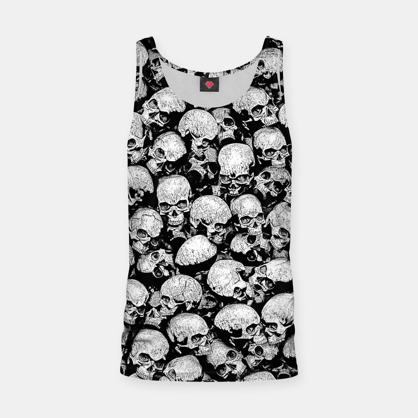 Image of Totally Gothic II Tank Top - Live Heroes