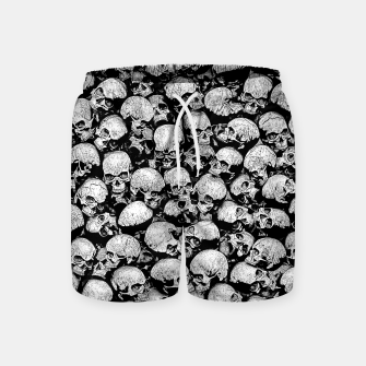Thumbnail image of Totally Gothic II Swim Shorts, Live Heroes