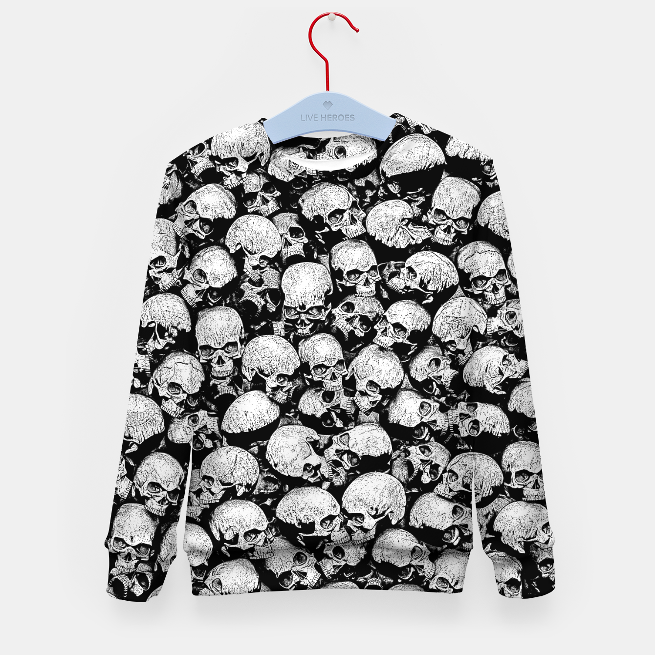 Image of Totally Gothic II Kid's sweater - Live Heroes