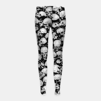 Thumbnail image of Totally Gothic II Girl's leggings, Live Heroes