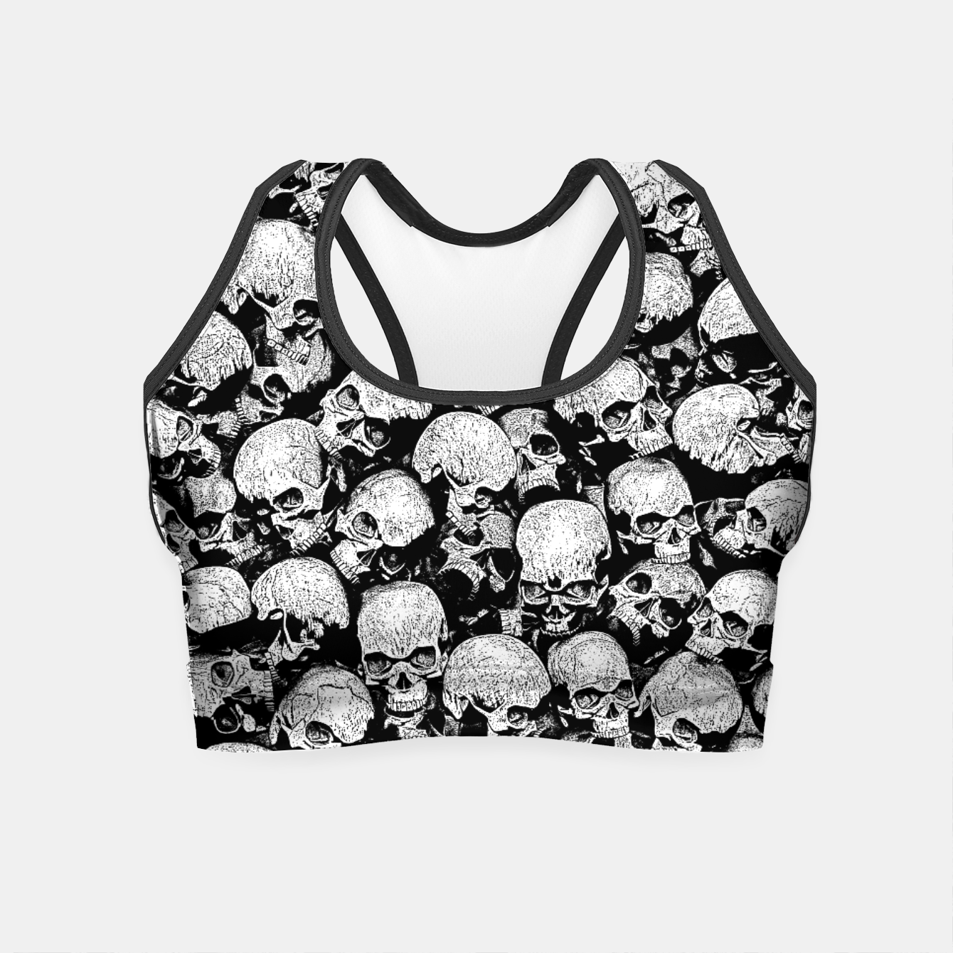Image of Totally Gothic II Crop Top - Live Heroes