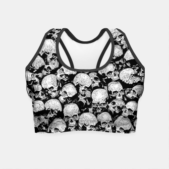 Thumbnail image of Totally Gothic II Crop Top, Live Heroes