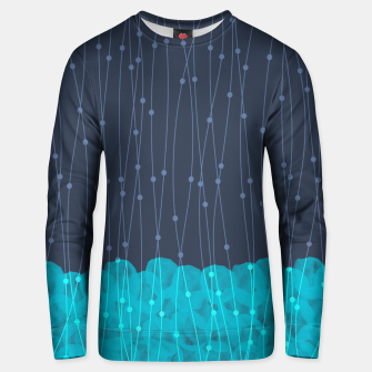 Thumbnail image of Icy Petals Unisex sweater, Live Heroes