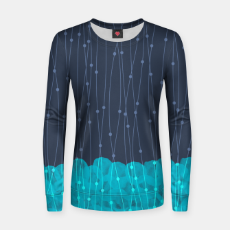 Thumbnail image of Icy Petals Women sweater, Live Heroes