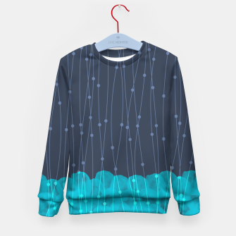 Thumbnail image of Icy Petals Kid's sweater, Live Heroes