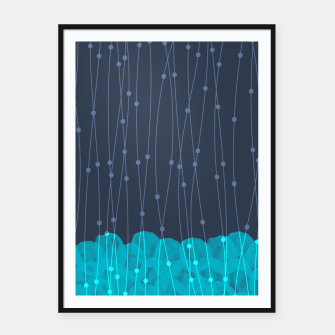 Thumbnail image of Icy Petals Framed poster, Live Heroes