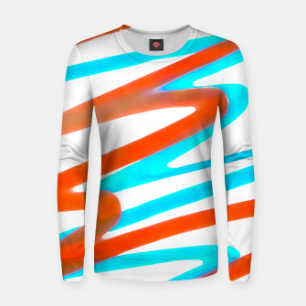 Miniaturka Colored Abstract Print Design Women sweater, Live Heroes