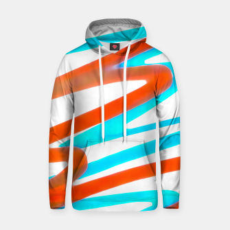 Miniatur Colored Abstract Print Design Hoodie, Live Heroes