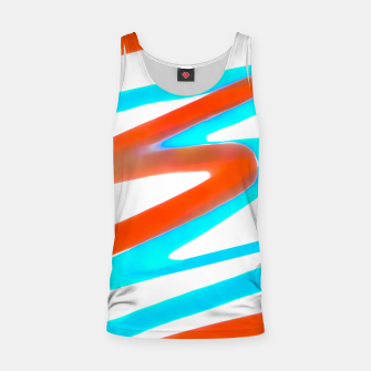 Miniaturka Colored Abstract Print Design Tank Top, Live Heroes