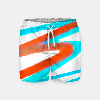 Miniaturka Colored Abstract Print Design Swim Shorts, Live Heroes