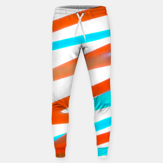 Miniaturka Colored Abstract Print Design Sweatpants, Live Heroes
