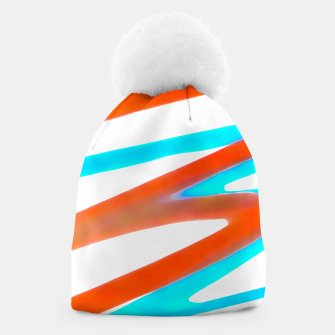 Miniaturka Colored Abstract Print Design Beanie, Live Heroes
