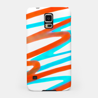 Miniaturka Colored Abstract Print Design Samsung Case, Live Heroes