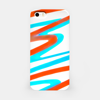 Miniaturka Colored Abstract Print Design iPhone Case, Live Heroes