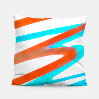 Miniaturka Colored Abstract Print Design Pillow, Live Heroes