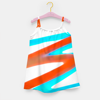 Miniaturka Colored Abstract Print Design Girl's dress, Live Heroes