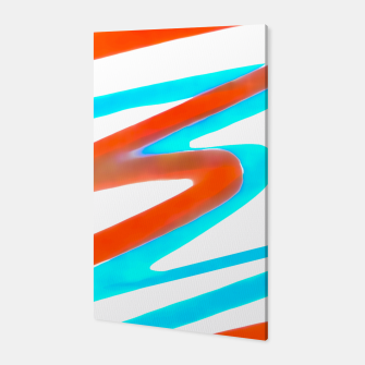 Miniaturka Colored Abstract Print Design Canvas, Live Heroes