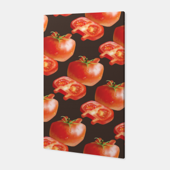 Thumbnail image of Tomato Pattern Canvas, Live Heroes