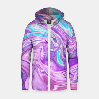 Thumbnail image of Abstract Texture Zip up hoodie, Live Heroes