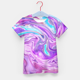 Thumbnail image of Abstract Texture Kid's t-shirt, Live Heroes