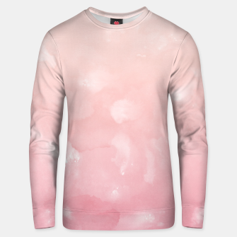 Thumbnail image of Touching Coral Pink Abstract Painting #1 #ink #decor #art  Unisex sweatshirt, Live Heroes