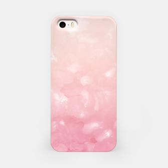 Thumbnail image of Touching Coral Pink Abstract Painting #1 #ink #decor #art  iPhone-Hülle, Live Heroes