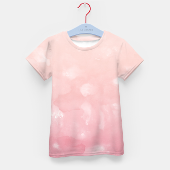 Thumbnail image of Touching Coral Pink Abstract Painting #1 #ink #decor #art  T-Shirt für kinder, Live Heroes