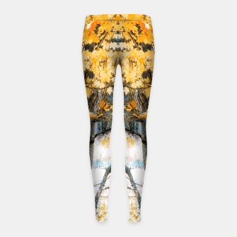 Thumbnail image of Fit for fall Girl's leggings, Live Heroes
