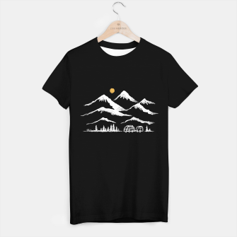 Miniatur Adventurer T-shirt regular, Live Heroes