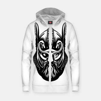 Thumbnail image of odin Zip up hoodie, Live Heroes