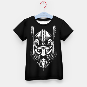 Thumbnail image of odin_bl2 Kid's t-shirt, Live Heroes