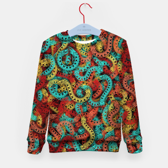 Thumbnail image of Quetzalcoatles Kid's sweater, Live Heroes