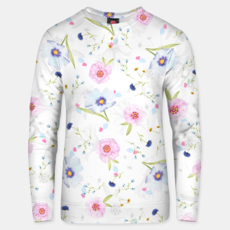 Thumbnail image of Floral Pattern Unisex sweater, Live Heroes