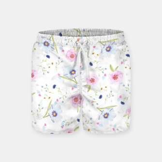 Thumbnail image of Floral Pattern Swim Shorts, Live Heroes
