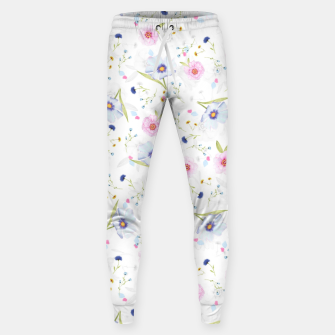 Thumbnail image of Floral Pattern Sweatpants, Live Heroes