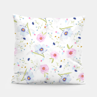 Thumbnail image of Floral Pattern Pillow, Live Heroes