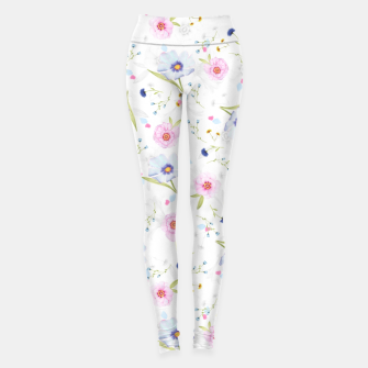 Thumbnail image of Floral Pattern Leggings, Live Heroes