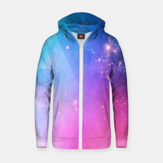 Thumbnail image of Light Design Zip up hoodie, Live Heroes