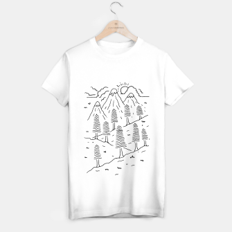 Miniatur Hiking Trails T-shirt regular, Live Heroes
