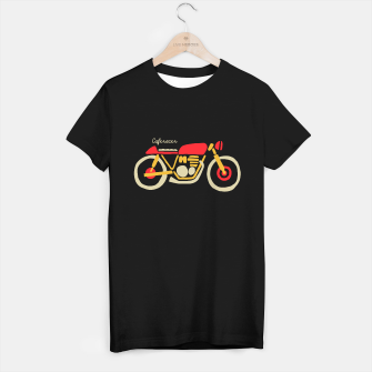 Thumbnail image of Caferacer T-shirt regular, Live Heroes