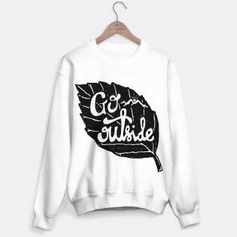 Miniatur Go Outside Sweater regular, Live Heroes