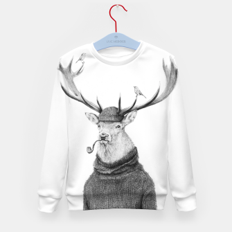 Thumbnail image of Wild Thinking Kid's sweater, Live Heroes