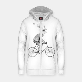 Thumbnail image of Even a Gentleman Rides Zip up hoodie, Live Heroes