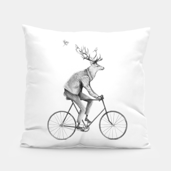 Thumbnail image of Even a Gentleman Rides Pillow, Live Heroes