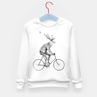 Thumbnail image of Even a Gentleman Rides Kid's sweater, Live Heroes