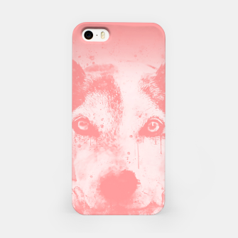 Thumbnail image of lying dog close-up view wspw iPhone Case, Live Heroes