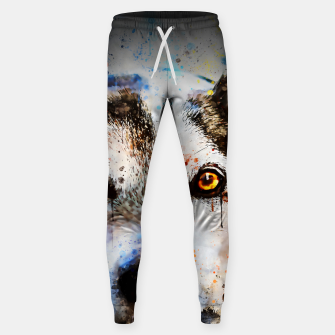 Thumbnail image of lying dog close-up view wsstd Sweatpants, Live Heroes